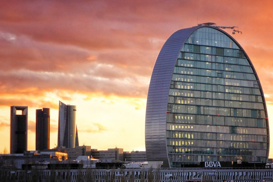 Domótica Edificio BBVA Madrid vela ultima