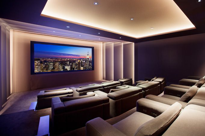 Gu a para el dise o de una sala de cine en casa iddom tica - Sala de cine en casa ...