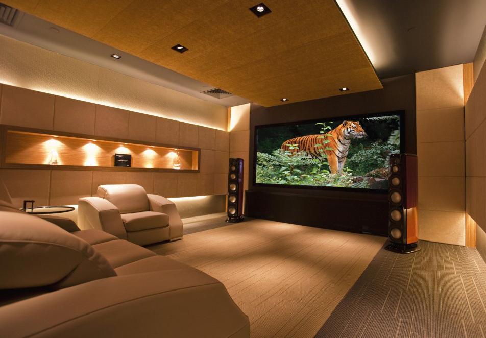 Gu a para el dise o de una sala de cine en casa iddom tica for Disenos de salas de casas