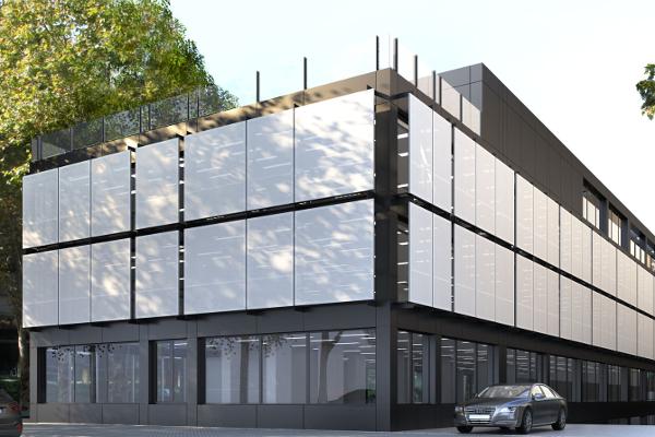Oficinas manuel de falla madrid dom tica edificios for Oficina de vivienda comunidad de madrid