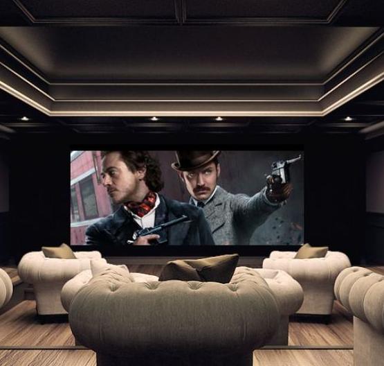 Salas De Cine En Casa: Guía Para El Diseño De Una Sala De Cine En Casa